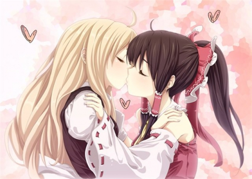 поцелуй,любовь