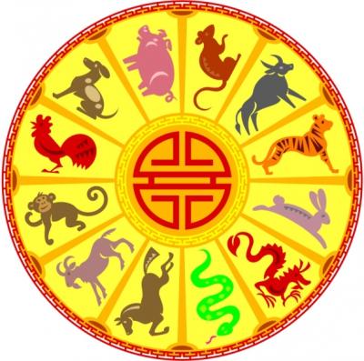 восточный гороскоп,2012 год,овца,собака,крыса,тигр,кролик,змея,дракон,бык,лошадь,петух,свинья,обезьяна