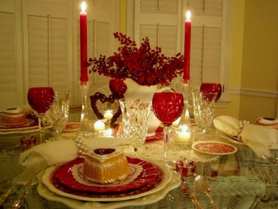 14 февраля,сервировка,романтика,день влюбленных,валентин