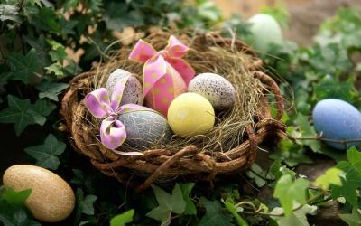 пасха,яйца,красить яйца,весна,краска,лук,шелуха
