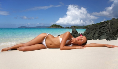 Пляж море солнце секс