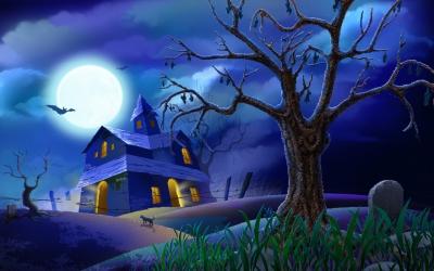 Хэллоуин,праздник,страх,тыква.ведьмы.украшения,дом,квартира,комната