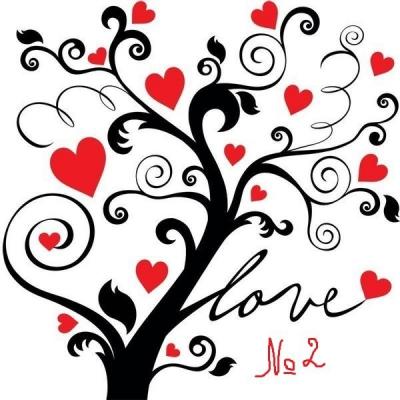 тест,вторая половинка,деревья,сердечки,любовь,отношения,дерево любви