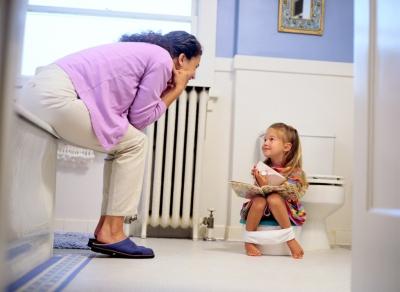 туалет,горшок,ребенок,фантазия,терпение,любовь,родители,папа,малыш