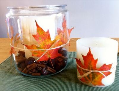осень,декор,осенний декор,дом,квартира,листья,золотая осень,сентябрь,ноябрь,октябрь