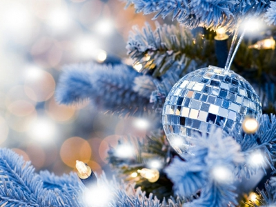 елка,новый год,2014 год,год лошади,синяя лошадь,зима,дом,украсить елку
