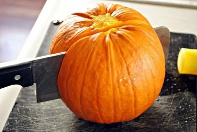 тыква,пюре,хзллоун,октябрь,праздник,тыквенное пюре