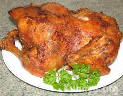 стол,курица,новый год,праздник,2015 год,духовка,кухня,фаршированная курица