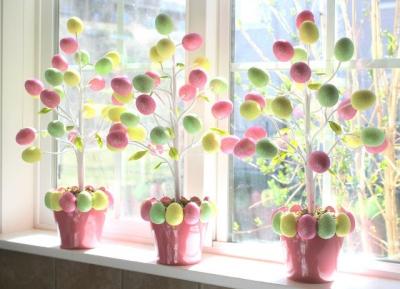 дерево,пасхальное дерево,пасха,весна,праздник,12 апреля