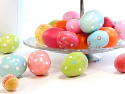 пасха,яйца,горошек,12 апреля,весна,пасхальные яйца