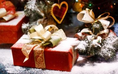 новый год,муж,подарки,год обезьяны,зима,елка,праздник,новогодние подарки