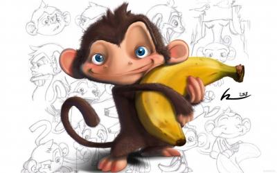 2016,год обезьяны,обезьяна,новый год,январь,зима,встреча,праздник