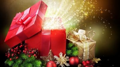 новогодние подарки,год обезьяны,новый год,2016,зима,январь,елка,праздник