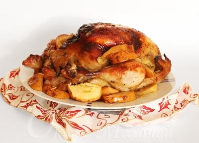 стол,новый год,обезьяна,блюда,утка,яблоки,курица,гости,праздник,горячие блюда