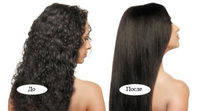 Манон, Manon, Кератиновое восстановление волос с эффектом выпрямления Nouvelle