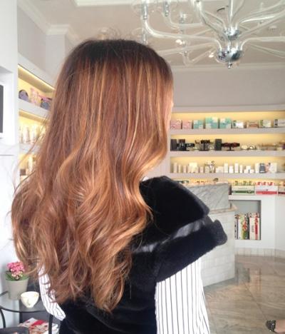 Окрашивание волос с переходом цвета, Manon, Манон